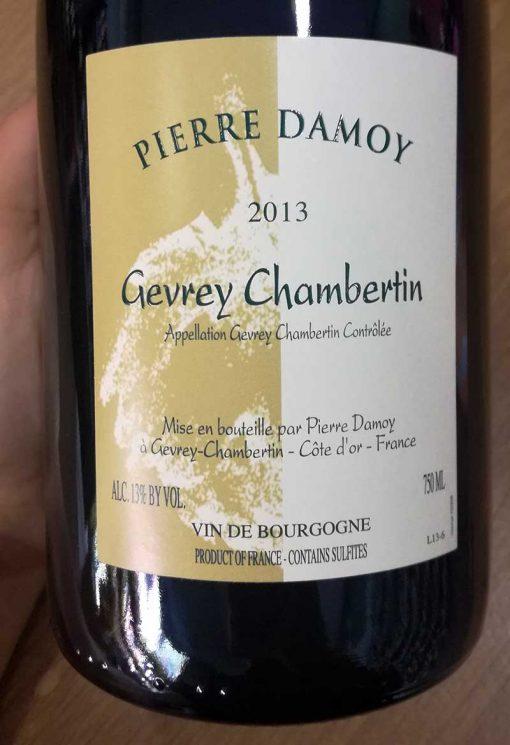 Damoy Gevrey-Chambertin 2013