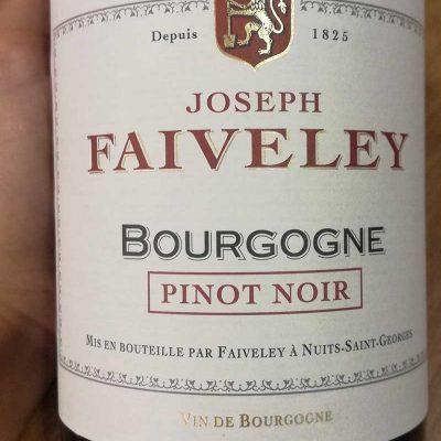 Faiveley Pinot Noir