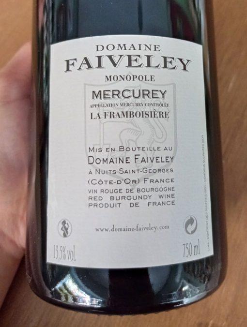 Faiveley la framb. tras